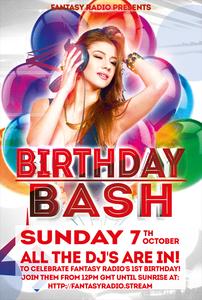 Fantasy Radio UK 1st Birthday Bash