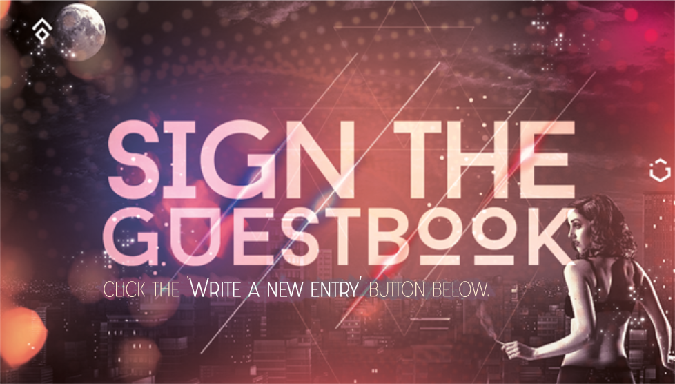 Sign the Guestbook