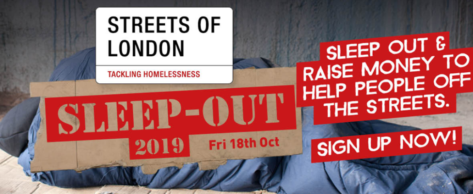 Sleep Out 2019 - Streets of London