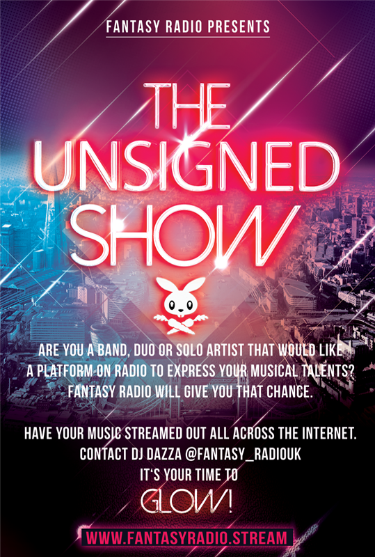 Unsigned Show from Fantasy Radio UK