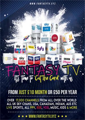 FantasyTV - IPTV The BEST Service in 2021